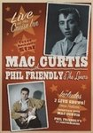 DVD Mac Curtis concert + Phil Friendly & The Loners concert - Live At The Cruise Inn (2x rockabilly)