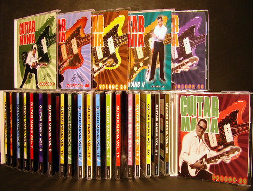 Special Price ! Guitar Mania complete series 30 CD's - Various Artists